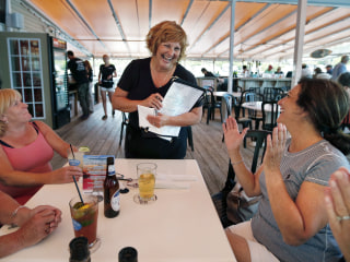 Maine's First Lady Ann LePage Takes Summertime Waitressing Job to Pick Up Cash