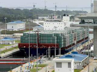 First Vessel Passes Through Newly Expanded Panama Canal