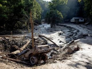 West Virginia Flood Victims Salvage Belongings
