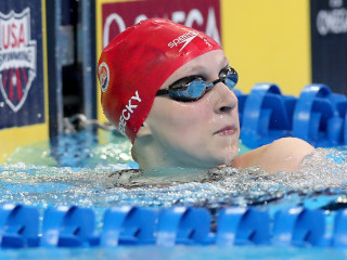 Road To Rio: Ledecky Flirts With Record En Route to Olympic Bid