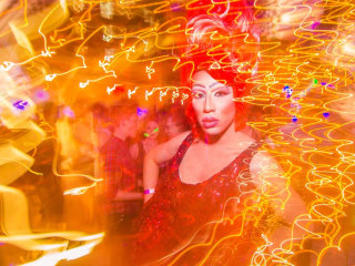 Chicana Drag Queen Lady Quesa'Dilla Counsels, Paves the Way for LGBT Youth