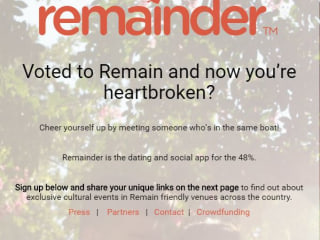 I Love EU: This Dating App Aims to Connect Brexit 'Remain' Voters