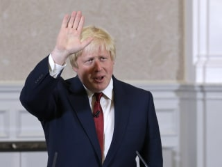 Boris Johnson Rules Himself Out of U.K. Leadership Race