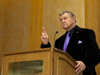 Ditka Passes on Trump's Invite to Speak at Republican Convention