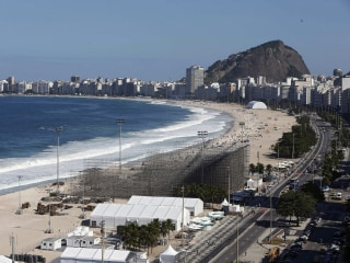 Latest Rio Headache: Body Parts on the Beach