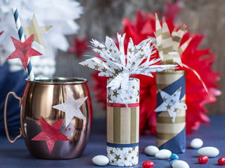 Easy Red, White and Blue July 4th Crafts