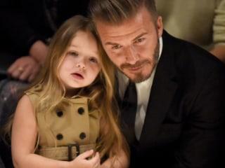 See David Beckham's Sweet Birthday Tribute To Daughter
