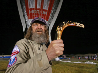 Russian Aims for World Record in Solo Balloon Trek Around Globe
