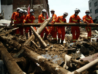 China Surveys the Damage After Devastating Typhoon