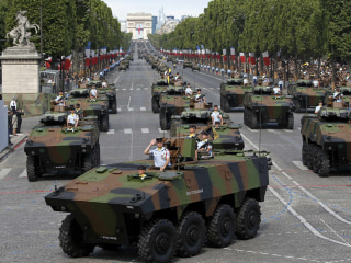 French Jets Soar and Tanks Roll for Bastille Day