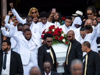 Family and Friends Say Goodbye to Philando Castile