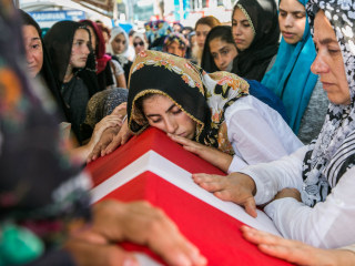 Relatives Mourn Victims of Failed Turkey Coup