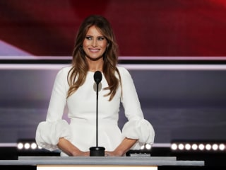 Melania Trump Republican Convention Speech Bears Striking Similarities to Michelle Obama Address