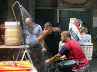 Iraq Hit by Heatwave as Temperatures Soar to 120 Degrees Fahrenheit