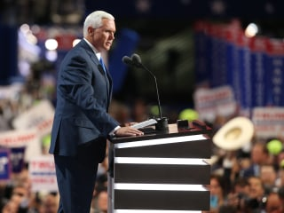 Mike Pence: Politics is No Place for 'Name Calling'