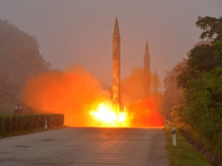 North Korea Carries Out Another Missile Launch After Saying U.S. 'Declared War'
