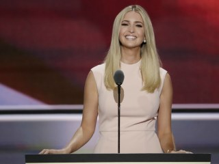 Ivanka Trump Promotes Fashion Line From RNC Stage