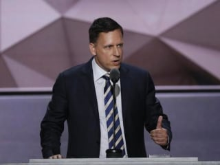 Thiel's Trump Speech Gets Thumbs up From Silicon Valley Republicans