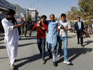 Suicide Bombings at Kabul Demonstration Kill, Injure Over 300