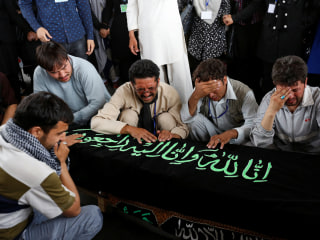 Afghanistan Mourns 80 Killed in Suicide Attack on Kabul Demonstration