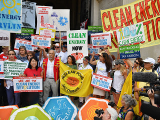 Climate Change Activists Hope for Clinton Presidency