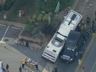 26 Injured When Bus, Jeep, Tractor-Trailer Collide Near Philadelphia