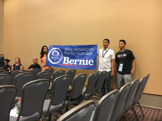 Clinton, Sanders Supporters at Odds as DNC Begins