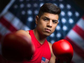 Our Latino U.S. Olympians: Mexican Boxer Carlos Balderas