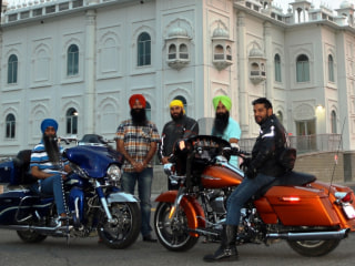 'Fighting for It': How Sikh-Canadian Bikers Are Riding for Religious Freedom and Cancer Awareness