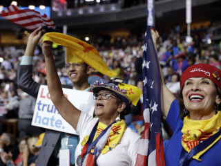 Rough Start Overshadows Latino Showcase at Democratic Convention