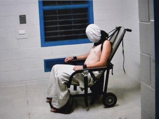 Australia Prison Guards Taped Strapping Half-Naked Hooded Boy to Chair