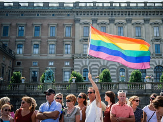 Pride Flags Cut Down in Swedish City