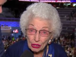 102-Year-Old Woman Honored to Nominate Hillary Clinton