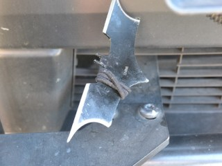 ZING! THUD! Suspect Flings Batarang Into Seattle Police Car