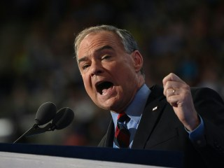 Tim Kaine Introduces Himself to Nation in Accepting Vice Presidential Nomination