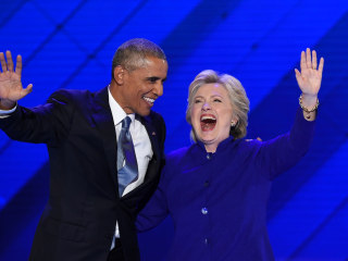 'The Choice Isn't Even Close': President Obama Heaps Praise on Hillary Clinton at DNC