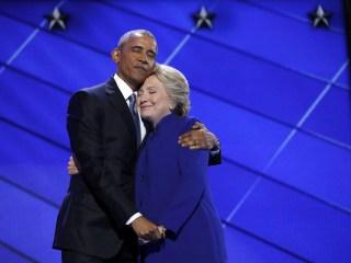 President Obama Heaps Praise on Hillary Clinton at DNC