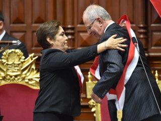 Peru Swears in A New President, Pedro Pablo Kuczynski