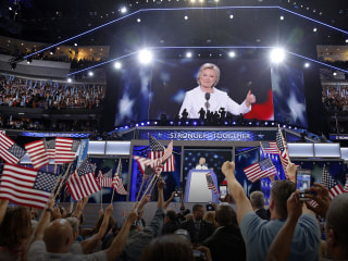First Read: An OK Speech, But a Powerful Convention