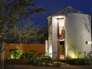 This couple transforms a grain silo into a home — see inside!