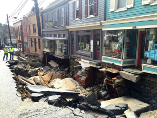 Maryland Recovers After Ravaging Floodwaters