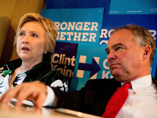 Kaine on Emails: Clinton and I Will Be 'Real Transparent'