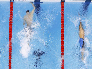 Olympic Moments: Swimmers Lily King and Ryan Murphy Win Gold