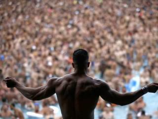 Revelers Make Waves at Gay Festival in Barcelona