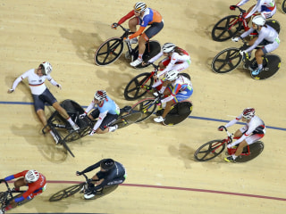 Olympic Moments: Bike Crash Derails Competitors and More