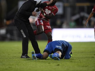 Masked Man Rushes Swedish Soccer Field, Attacks Visiting Team's Goalkeeper