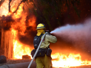More Than 1,500 Battle Monster California Wildfire