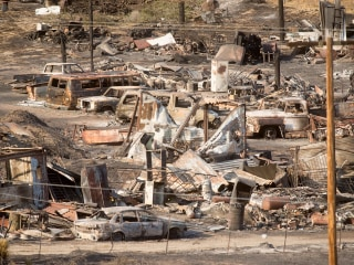 Progress Made Against Blue Cut Fire, Another Blaze Nears Hearst Castle