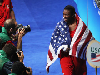 USA's Shields Wins Second Straight Women's Boxing Gold