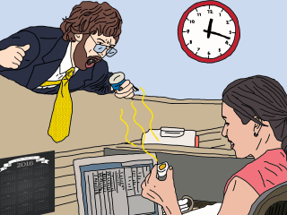 The art of eating (and dealing with someone else's) smelly lunch at work